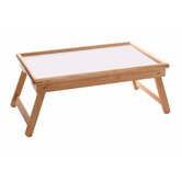Breakfast Tray with Flip Top and Foldable Legs