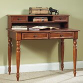 Homestead Student Desk and Hutch Set with 2 Drawers on Desk