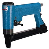 "Pneumatic Tacker 3/8"" Crown Upholstery Stapler Automatic w/ Long Magazine"