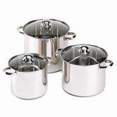 Lidden Stockpot with Lid (3 Pieces)