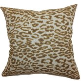 Egeria Leopard Print Cotton Pillow