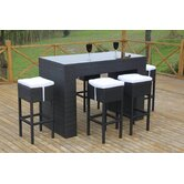 Vino 7 Piece Bar Set