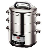 Electric 12.6 Quart Steamer