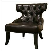 Baxton Studio Leather Chair