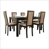 Baxton Studio Pollard 7 Piece Dining Set