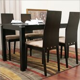 Baxton Studio Lambert 5 Piece Dining Set