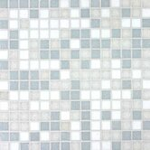 "Tesserae Blends 12-7/8"" x 12-7/8"" Tesserae Glass Tile in Glacier Bay"