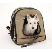 Pet Back-Pack At Work Travel System in Tan