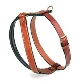 Classic Pitbull Leather Dog Harness