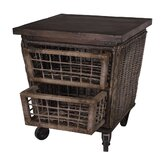 Artifacts Rattan Kitchen Cart