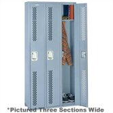 Integrated Frame All Welded Locker - Single Tier - 1 Section