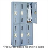 Integrated Frame All Welded Locker - Double Tier - 3 Sections