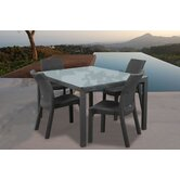 Atlantic Java 5 Piece Rectangular Dining Set