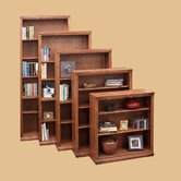 Traditional Bookcase with 1 Fixed and 4 Adjustable Shelves