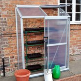 Lean-To Aluminium Greenhouse