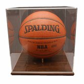 Basketball Display Case in Acrylic Base