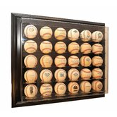 "Thirty Baseball ""Case-Up"" Display"