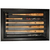 Six Horizontal Bat Display