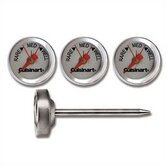 Set of Four Outdoor Grilling Steak Thermometers