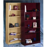 Wall Street Five Shelf Bookcase