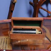 Handheld Telescope in Wood Box