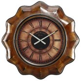 Sullivan Wall Clock in Distressed Chestnut