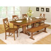 Millwright 6 Piece Dining Set