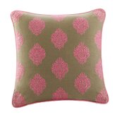 Raja Square Pillow in Pine Bark