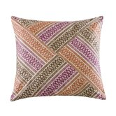 Mayan Geo Square Pillow in Multi