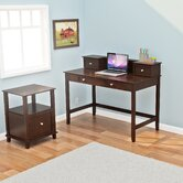 Barnett Desk and Hutch Office Suite