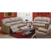 Callahan Leather Reclining Living Room Collection
