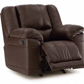 Franco Leather Chaise Recliner