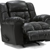 Argosy Leather Chaise Recliner