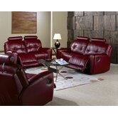 Galore 2 Piece Leather Reclining Living Room Set