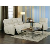 Bounty 2 Piece Leather Reclining Living Room Set