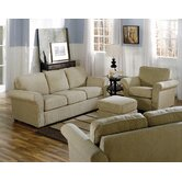 Maguire 3 Piece Fabric Living Room Set