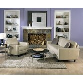 Trista 2 Piece Leather Living Room Set