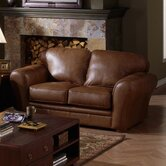 Natalia Leather Loveseat