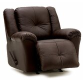 Buzz Leather Chaise Recliner