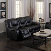 Santino Reclining Leather Sofa