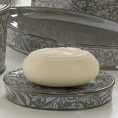 Bedminister Scroll Soap Dish in Flint Grey