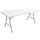 "Blow Mold 72"" x 30"" Rectagular Table"