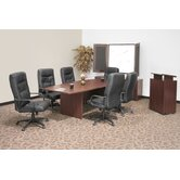 71&quot; x 35&quot;  Boat Shape Conference Table Office Set