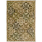 Home Nylon Light Multi Moroccan Mosaic Rug