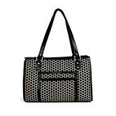 Payton Reverse Noir Dot Dog Carrier
