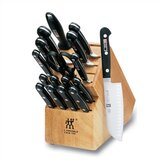 "Twin Pro ""S"" 18 Piece Cutlery Block Set"