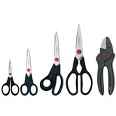 Twin L 5 Piece Household Scissor Set