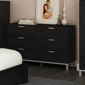 Flexible 6 Drawer Dresser