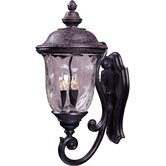 Carriage House DC  Outdoor Wall Lantern in Oriental Bronze