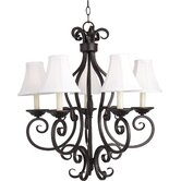 Manor 5 Light Chandelier